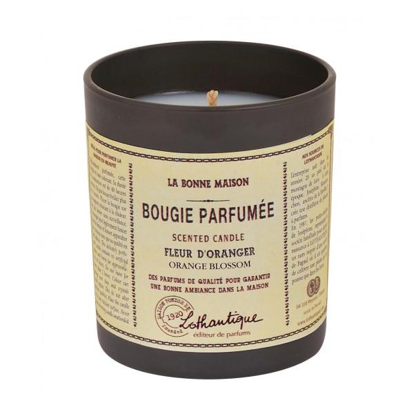 bougie parfum e fleur d 39 oranger de lothantique collection provence ar mes tendance sud. Black Bedroom Furniture Sets. Home Design Ideas