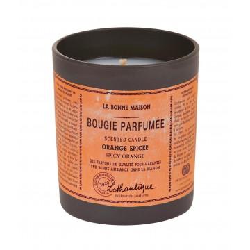 Bougie Parfumée ORANGE ÉPICÉE de Lothantique collection