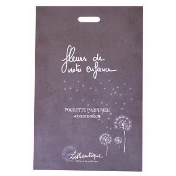 Pochette parfumée Fleurs de Notre Enfance Lothantique