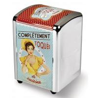 Distributeur de serviettes TOQUÉE DE CUISINE Natives déco rétro et vintage