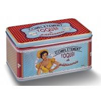 Boîte à biscuits TOQUÉE DE PÂTISSERIE Natives déco rétro vintage