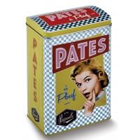 Boîte à pâtes PÂTES À POUF Natives déco rétro vintage