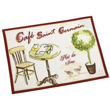 2 sets de table CAFÉ SAINT GERMAIN Comptoir de Famille