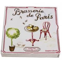 Serviettes en papier BRASSERIE DE PARIS Comptoir de Famille