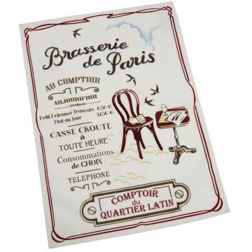 Torchon BRASSERIE DE PARIS Comptoir de Famille