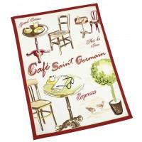 Torchon CAFÉ SAINT GERMAIN Comptoir de Famille