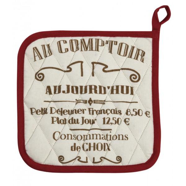 Tablier et manique brasserie de paris comptoir de famille provence ar mes tendance sud - Comptoir de famille paris ...