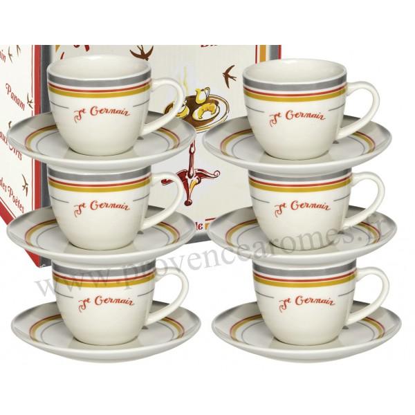 6 tasses caf bistrot de paris coffret comptoir de - Comptoir de famille salon de provence ...
