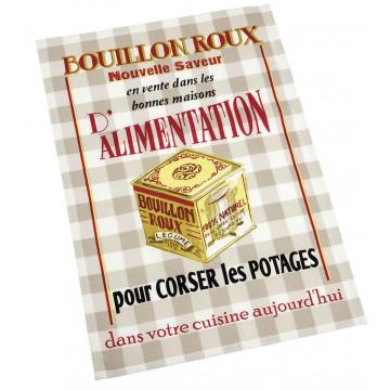 Torchon d co publicit r tro bouillon potage comptoir de famille provence ar mes tendance sud - Le comptoir de famille catalogue ...