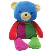 Peluche doudou nounours BÉBÉ TEDDY multicolore