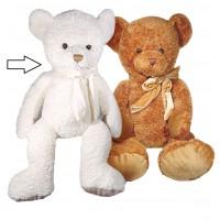 Peluche doudou ours blanc ultra doux style rétro vintage