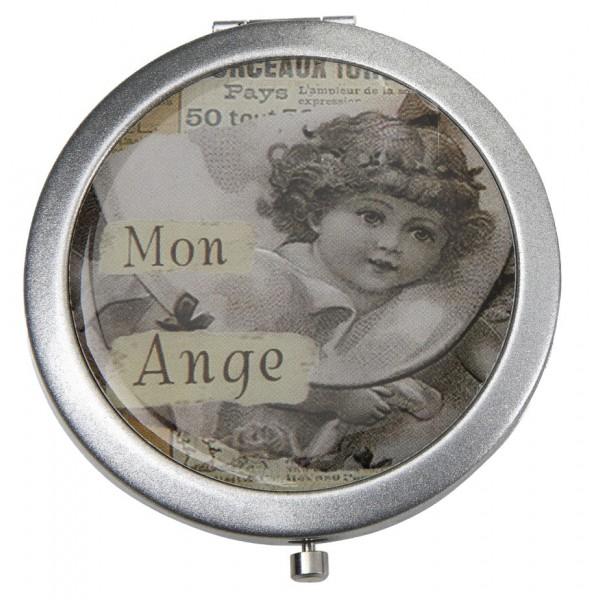 Miroir de poche mon ange comptoir de famille d co r tro for Miroir comptoir de famille
