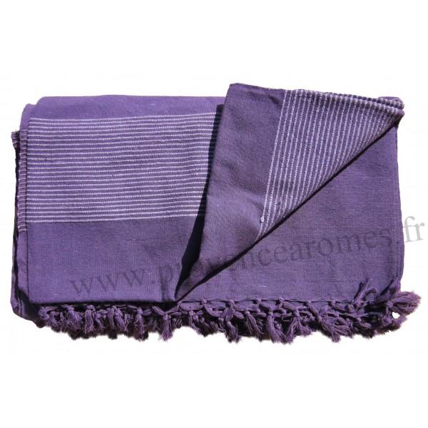 grande tenture k rala plaid couvre lit violet provence ar mes tendance sud. Black Bedroom Furniture Sets. Home Design Ideas