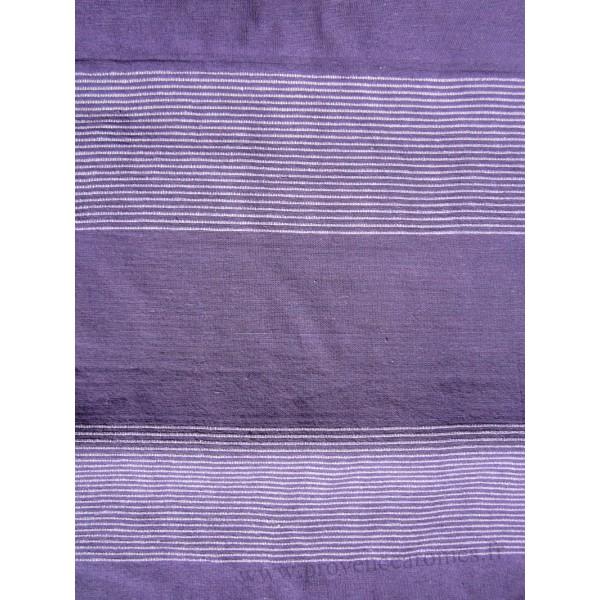 grande tenture krala plaid couvre lit violet - Dessus De Lit Violet