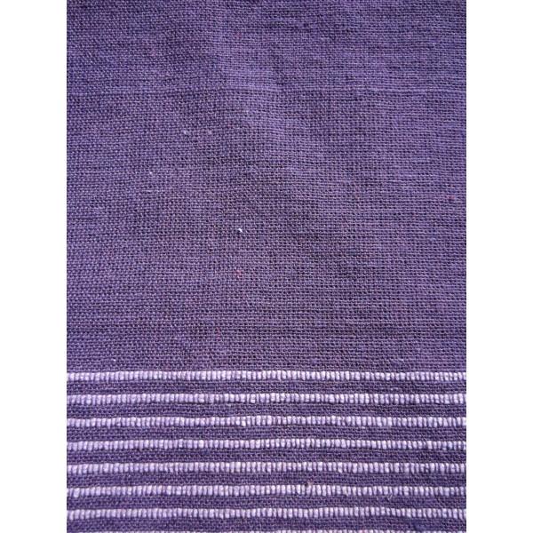 grande tenture k rala plaid couvre lit violet provence. Black Bedroom Furniture Sets. Home Design Ideas