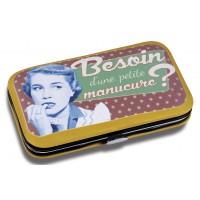 Kit Manucure BESOIN D'UNE MANUCURE Natives déco rétro vintage