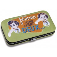 Kit Manucure FEMME À VERNIS Natives déco rétro vintage