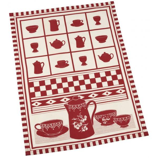 Torchon th cerise et gourmandise comptoir de famille d co - Comptoir de famille salon de provence ...