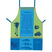 Tablier de cuisine Jacquard BOUILLABAISSE