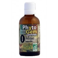 N°1 Défenses naturelles Arbre respiratoire Phyto'gem BIO complexe