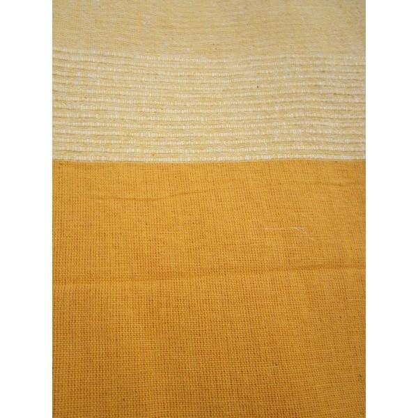 tenture k rala plaid couvre lit jaune orang provence ar mes tendance sud. Black Bedroom Furniture Sets. Home Design Ideas