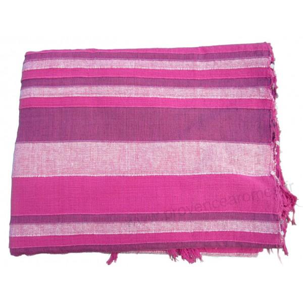 tenture k rala plaid couvre lit rose provence ar mes tendance sud. Black Bedroom Furniture Sets. Home Design Ideas