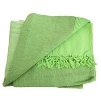 Tenture Kérala plaid couvre-lit Vert Printemps/Pomme