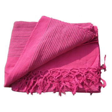 tenture k rala plaid couvre lit rose fushia provence ar mes tendance sud. Black Bedroom Furniture Sets. Home Design Ideas