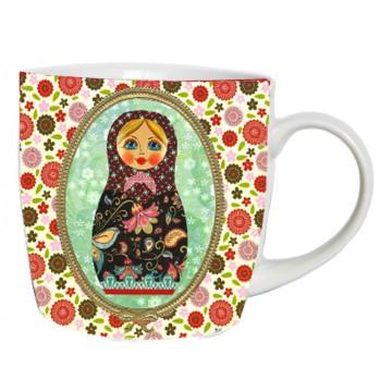 Mug POUPÉE RUSSE vintage