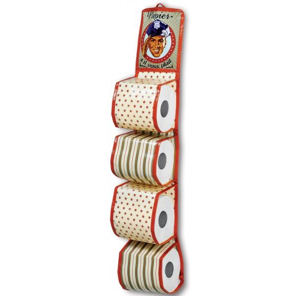 R serve papier toilette papier svp natives d co r tro vintage humoristique - Reserve papier toilette ...