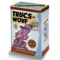 Boîte à croquettes TRUCS DE WOUF Natives déco rétro vintage humoristique