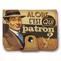Porte-cartes bancaires LE PATRON Natives déco rétro vintage