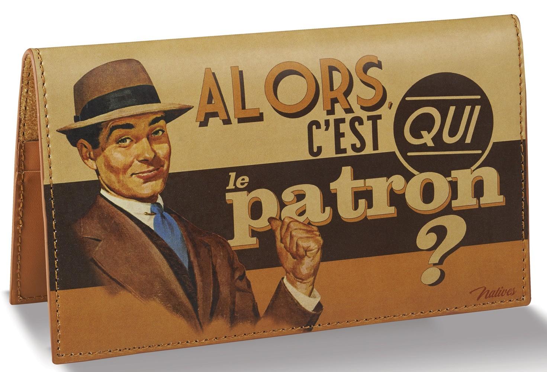 Porte chéquier Natives déco rétro vintage - Provence Arômes ...