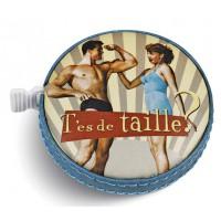 Mètre ruban DE TAILLE Natives déco rétro vintage