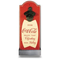 "Décapsuleur ""Coca Cola"" rouge Natives déco rétro vintage"