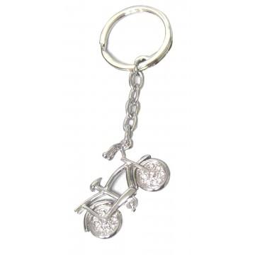 Porte clés vélo porte-clé métal