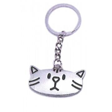 Porte clés Chat Kitty porte-clé métal