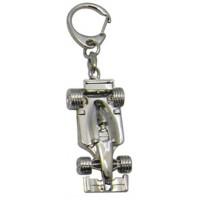 Porte-clés Voiture de course porte clés métal