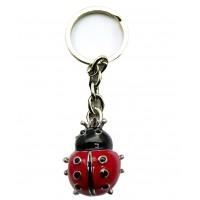 Porte-clés Coccinelle porte clés métal
