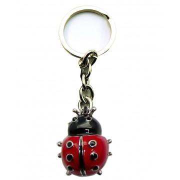 Porte clés Coccinelle porte-clé métal