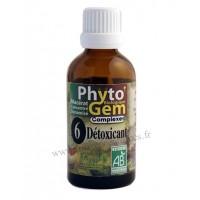 N°6 Détoxicant Phyto'gem BIO complexe