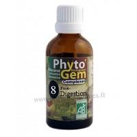 N°8 Foie Digestion Phyto'gem BIO complexe Phytofrance Euro Santé Diffusion
