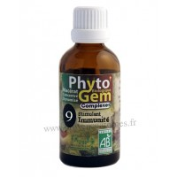 N°9 Stimulant immunitaire Phyto'gem BIO complexe Phytofrance Euro Santé Diffusion