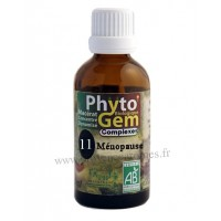 N°11 Ménopause Phyto'gem BIO complexe Phytofrance Euro Santé Diffusion