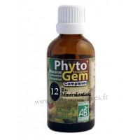 N°12 Reminéralisant Phyto'gem BIO complexe Phytofrance Euro Santé Diffusion