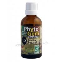 N°15 Bien-être sexuel Phyto'gem BIO complexe Phytofrance Euro Santé Diffusion
