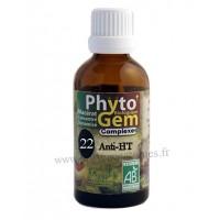 N°22 Anti-HT Phyto'gem BIO complexe Phytofrance Euro Santé Diffusion