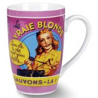 Mug LA BLONDE Natives déco rétro vintage humoristique