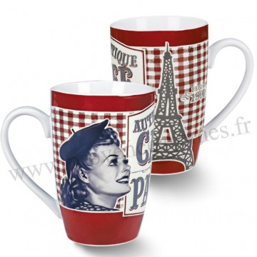 Mug CAFÉ DE PARIS Natives déco rétro vintage