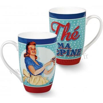 Mug MISS FIFTIES Natives déco rétro vintage